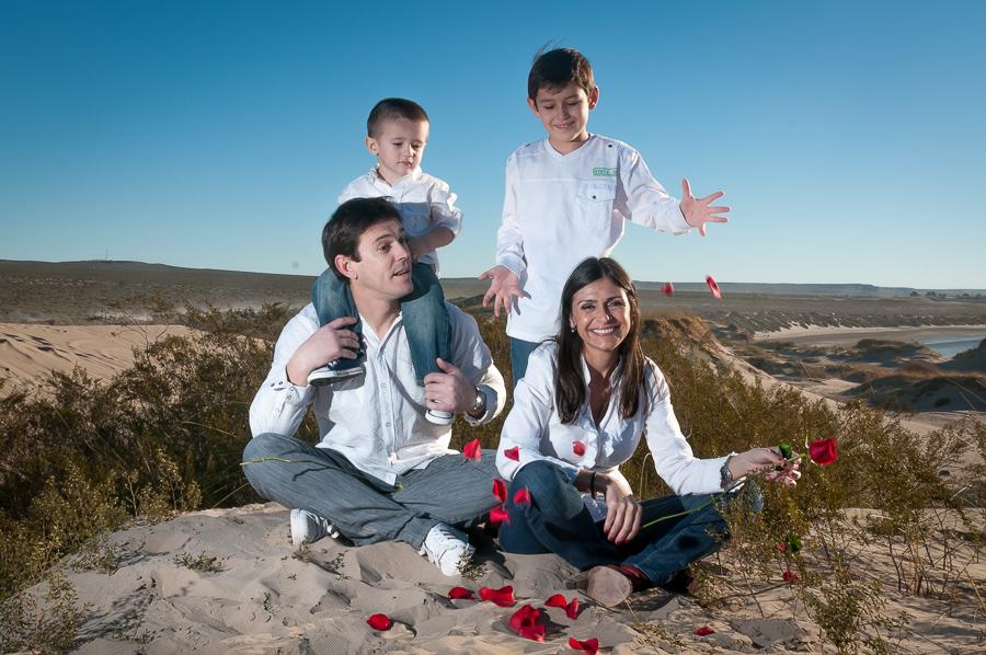Fotos de la sesion familiar de Giogina y Rolo por Anibal Alvarez Fotografo