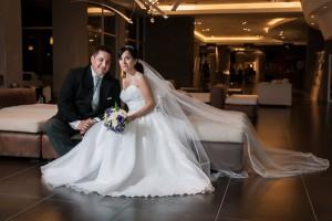 Foto destacada de la boda de Eli y Guille en el hotel rayentray de Puerto madryn por Anibal Alvarez Fotografo