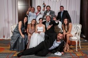 Fotos del casamiento de Eli y Guille en puerto madryn por anibal alvarez fotografo en el hotel rayentray
