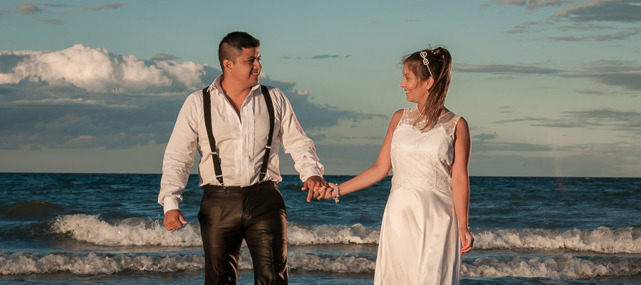 Foto de la boda de Johana y Maxi por el fotógrafo Aníbal Á{varez
