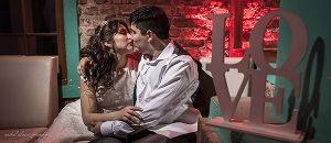 Rocio + Adrian final de boda en salon Las Totoras en Trelew por Anibal Alvarez Fotografo
