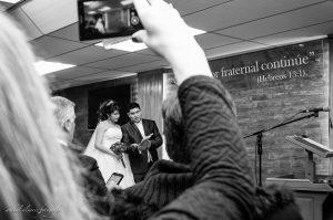 Rocio + Adrian boda casamiento en templo Trelew por Anibal Alvarez Fotografo