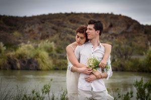 Fotos de la sesión de compromiso de Daniela y Marcos por Aníbal Álvarez en Trelew