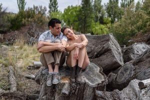 Fotos de la sesión de compromiso de Andrea y Adrián por Aníbal Álvarez Fotógrafo Patagonia Argentina